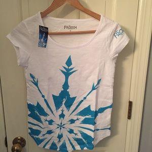 Frozen T Shirt Women Small T Shirt SS Broadway New